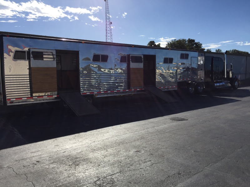 Repeat Ocala Horse Trailer Client Adds Camera System