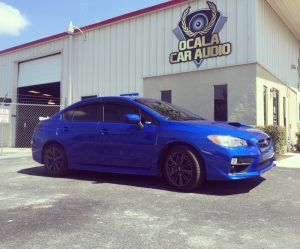 Subaru WRX Audio System Upgrade for Fruitland Park Client