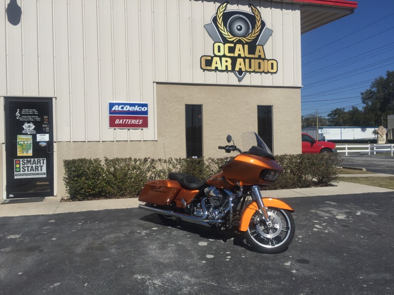 Ocala Client Upgrades Her Harley-Davidson Road Glide Audio System