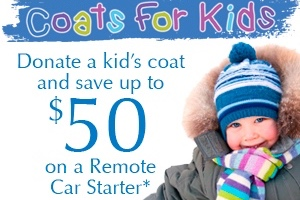 Coats For Kids Now Happening at Ocala Car Audio