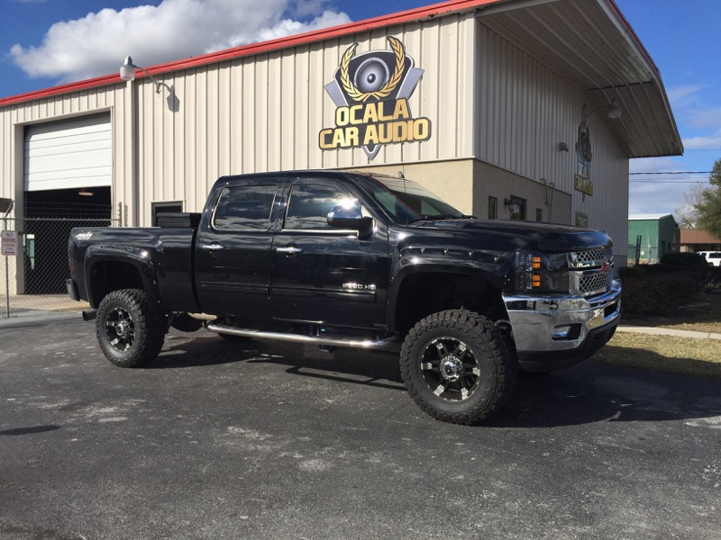 Chevrolet Silverado 2500HD Audio Upgrade For Ocala Client