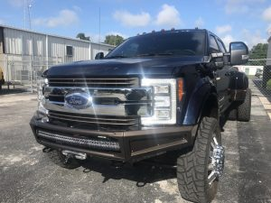 Lady Lake Client gets Ford F-450 Stereo and Lighting Upgrades
