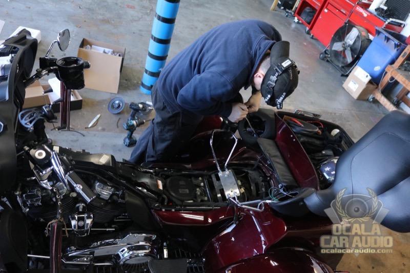 Ocala Client Upgrades Harley-Davidson Tri-Glide Ultra Stereo