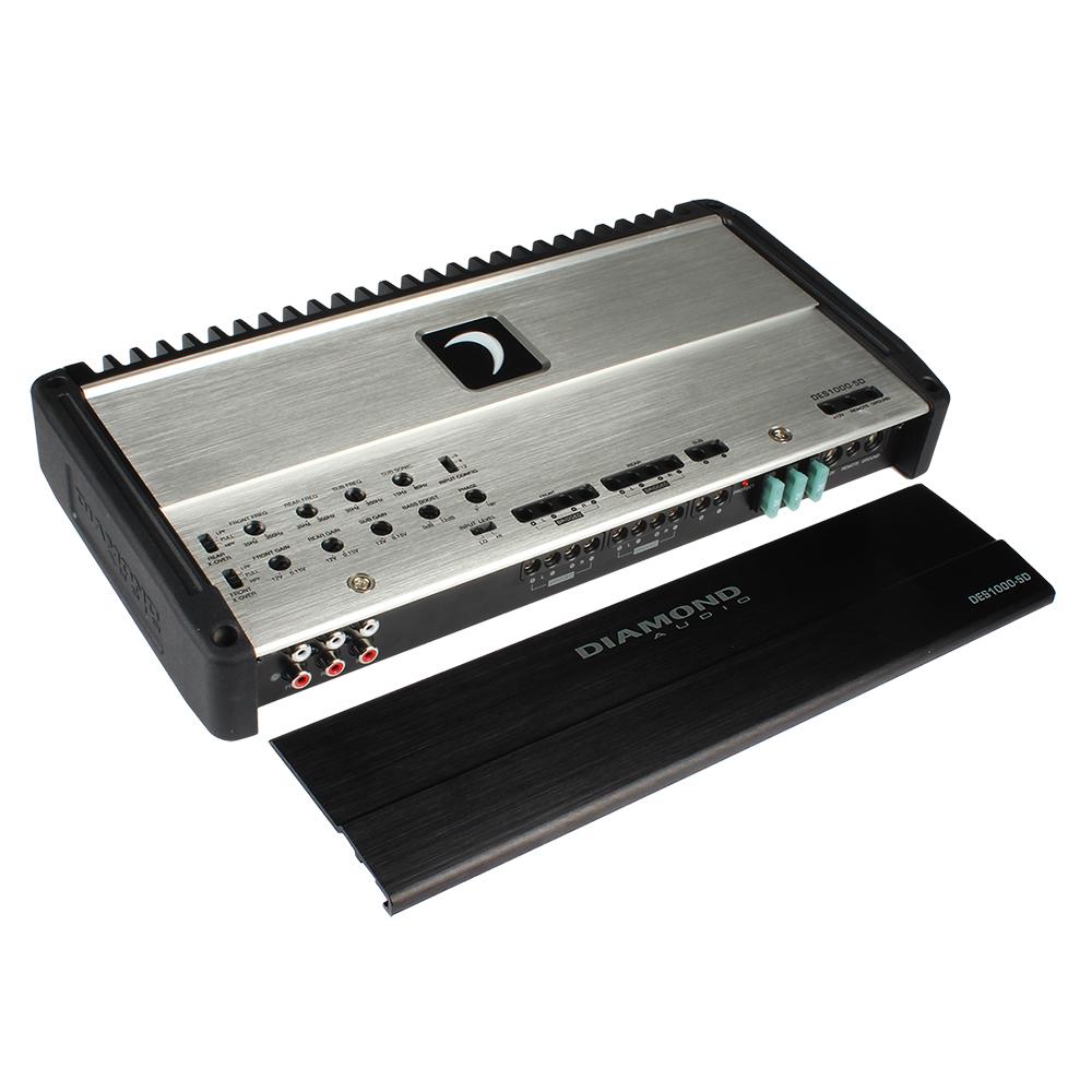 Best car audio system of 2020 II DES 5-Channel Full Range Class D Amplifier
